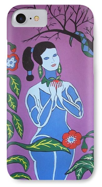 Blue Eve  No. 2 IPhone Case by Stephanie Moore