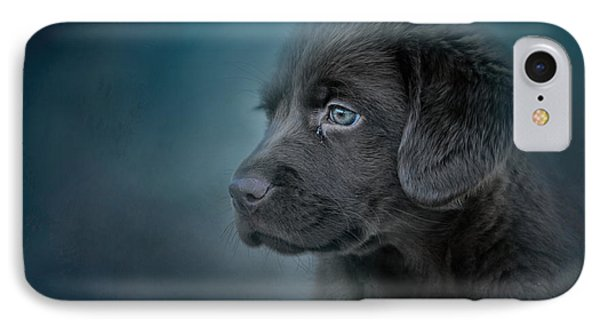Blue Eyed Puppy IPhone Case