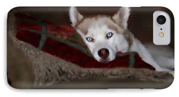 Blue Eyes IPhone Case by Colleen Taylor