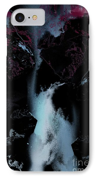 Blue Falls IPhone Case by Bruno Santoro