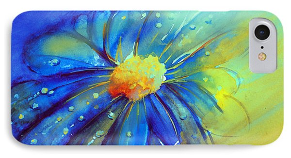 Blue Flower Offering IPhone Case by Allison Ashton