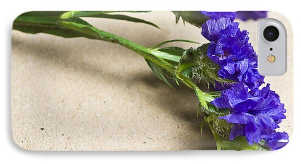 Blue Flower Phone Case by Svetlana Sewell
