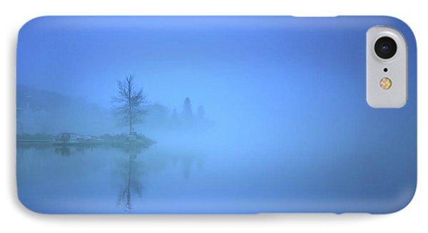 Blue Fog At Skaha Lake IPhone Case by Tara Turner