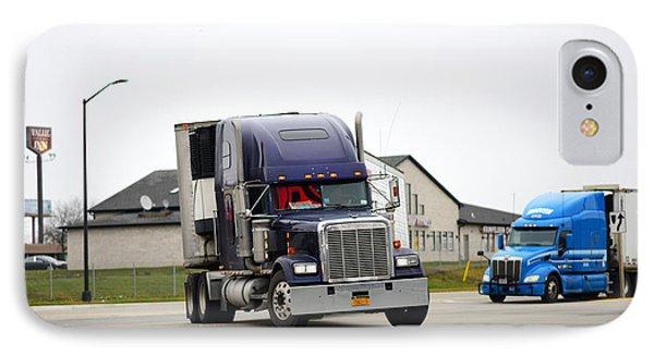 Blue Freightliner IPhone Case