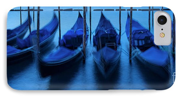 IPhone Case featuring the photograph Blue Gondolas by Brian Jannsen