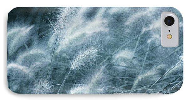 Blue Gras IPhone Case by AugenWerk Susann Serfezi