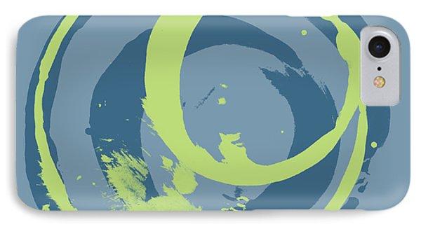 Blue Green 2 Phone Case by Julie Niemela