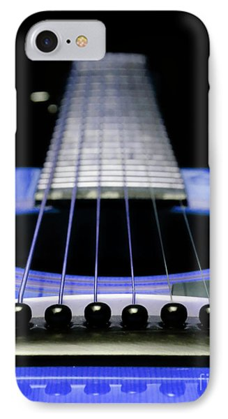 Blue Guitar 14 Phone Case by Andee Design
