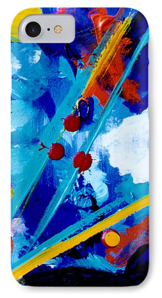 Blue Harmony  #128 Phone Case by Donald k Hall