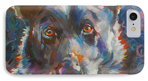 Blue Heeler IPhone Case by Kimberly Santini