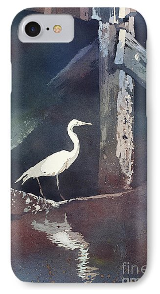 Blue Heron- Outer Banks IPhone Case by Ryan Fox
