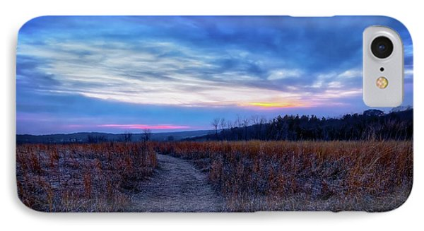 Blue Hour After Sunset At Retzer Nature Center IPhone Case by Jennifer Rondinelli Reilly - Fine Art Photography