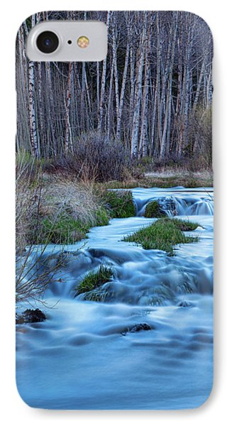 Blue Hour Streaming IPhone Case by James BO Insogna