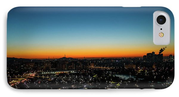 Blue Hours IPhone Case by Hyuntae Kim