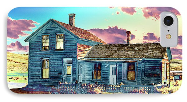 IPhone Case featuring the photograph Blue House by Jim and Emily Bush