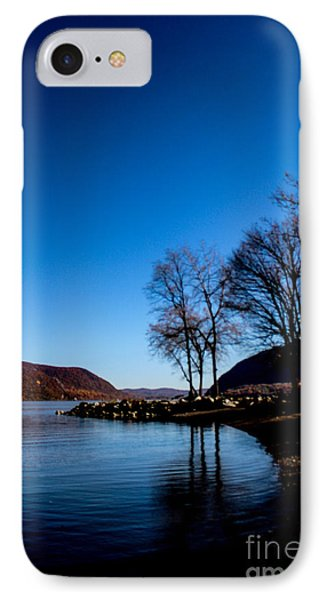 Blue Hudson IPhone Case by Victory Designs