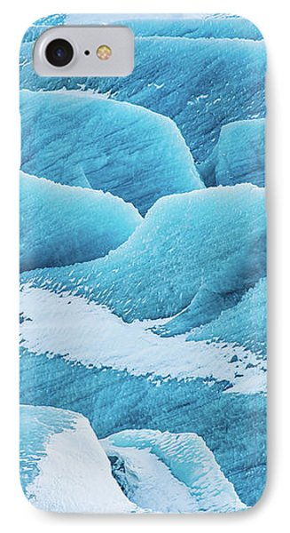IPhone Case featuring the photograph Blue Ice Svinafellsjokull Glacier Iceland by Matthias Hauser