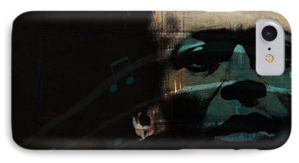 Blue In Green - Retro Series IPhone Case