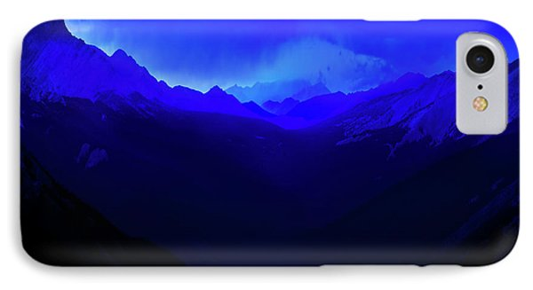 IPhone Case featuring the photograph Blue by John Poon