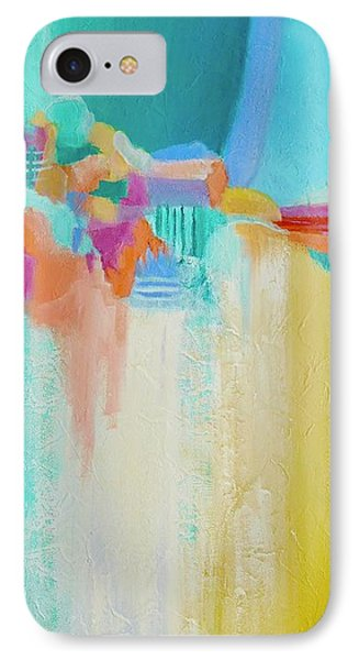 IPhone Case featuring the painting Blue Lagoon by Irene Hurdle