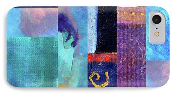 IPhone Case featuring the digital art Blue Love by Nancy Merkle