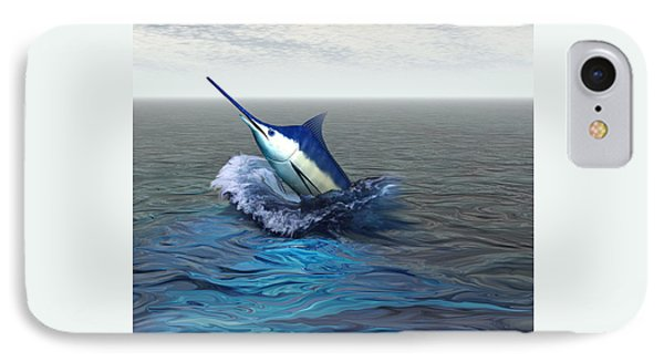 Blue Marlin Phone Case by Corey Ford