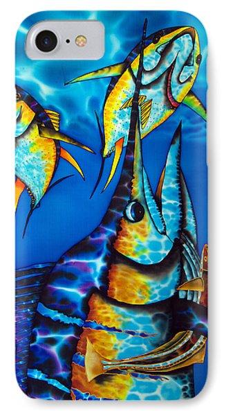 Blue Marlin Phone Case by Daniel Jean-Baptiste