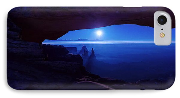 Blue Mesa Arch Phone Case by Chad Dutson