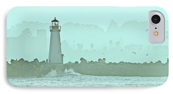 Blue Mist 1 IPhone Case by Marilyn Hunt