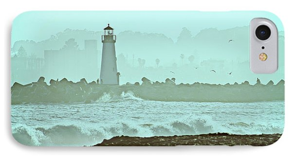 Blue Mist 2 IPhone Case by Marilyn Hunt