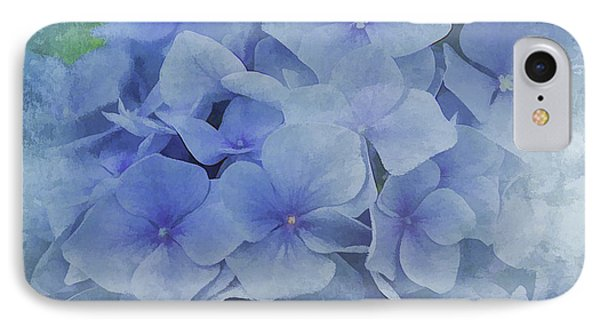 IPhone Case featuring the photograph Blue Moments by Elaine Manley