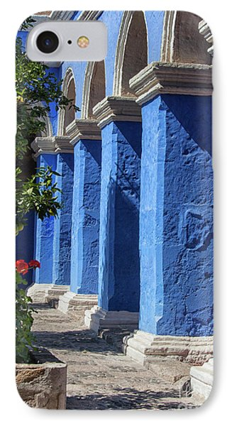 Blue Monastery IPhone Case by Patricia Hofmeester