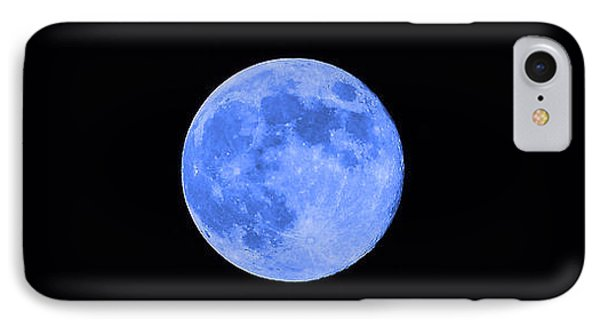 Blue Moon Phone Case by Al Powell Photography USA