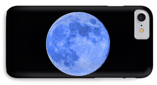 Blue Moon Close Up Phone Case by Al Powell Photography USA