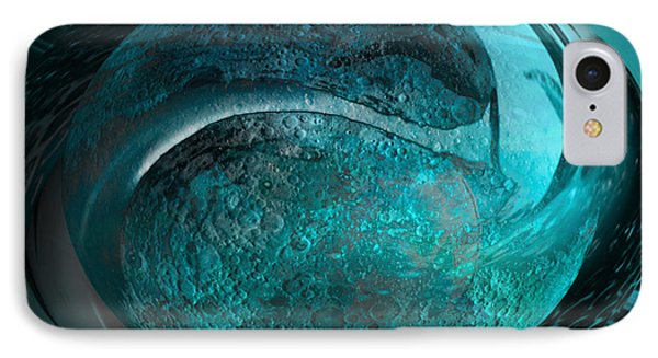 Blue Moon IPhone Case by Kevin Caudill