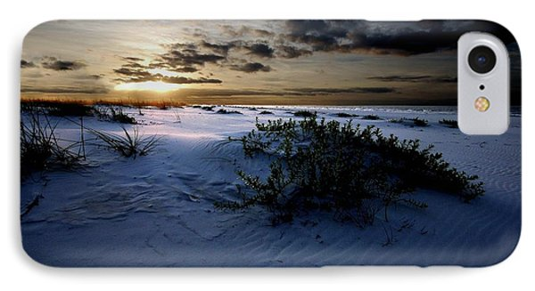 Blue Morning IPhone Case by Michael Thomas