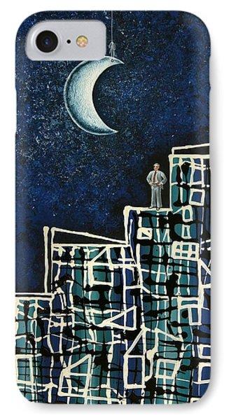 Blue Night IPhone Case by Graciela Bello