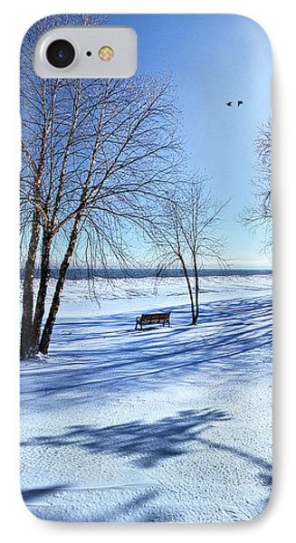 IPhone Case featuring the photograph Blue On Blue by Phil Koch
