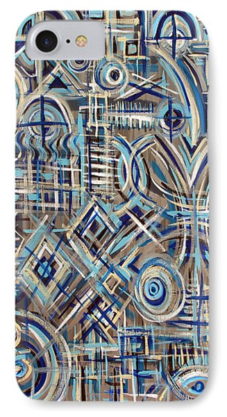 Blue Raucous IPhone Case
