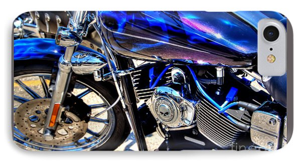 IPhone Case featuring the photograph Blue  Ray by Adrian LaRoque