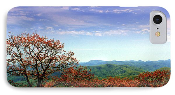 IPhone Case featuring the photograph Blue Ridge Blessing by Jessica Brawley