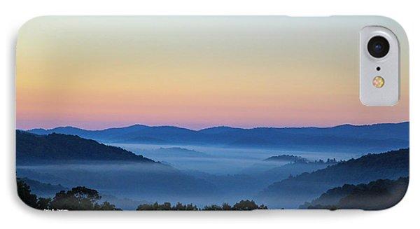 Blue Ridge Dawn IPhone Case by Dale R Carlson
