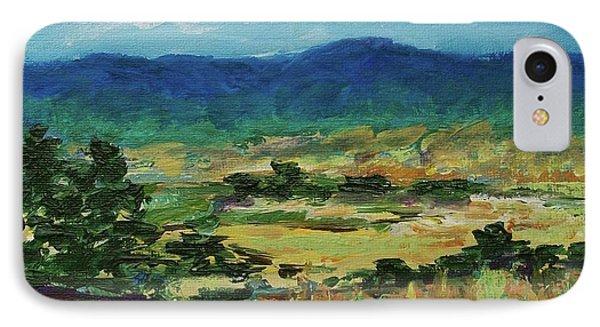 Blue Ridge IPhone Case by Gail Kent