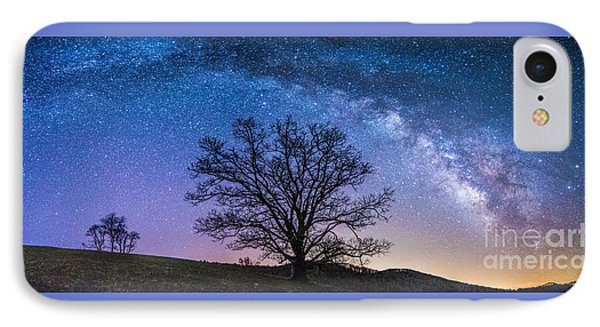 Blue Ridge Milkyway IPhone Case by Robert Loe