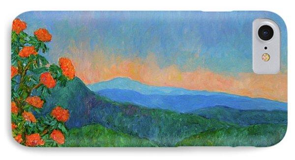 Blue Ridge Morning IPhone Case by Kendall Kessler