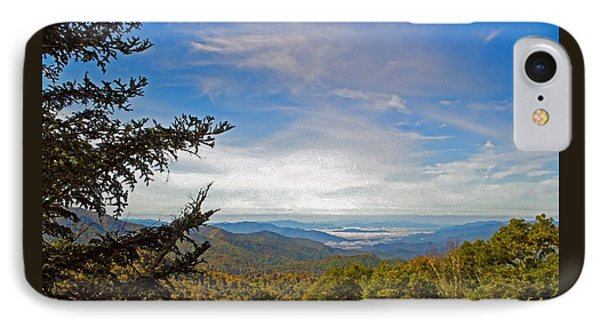 Blue Ridge Mountains - Ap IPhone Case by James Fowler