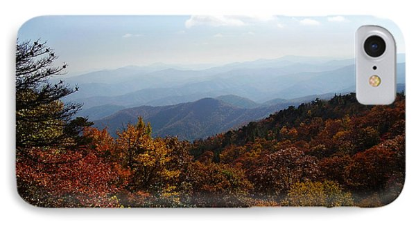 Blue Ridge Mountains IPhone Case by Flavia Westerwelle