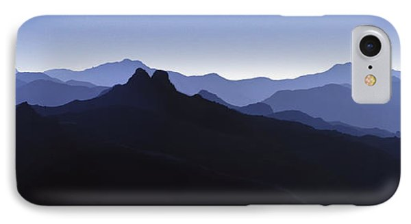 IPhone Case featuring the photograph Blue Ridge Mountains. Pacific Crest Trail by David Zanzinger