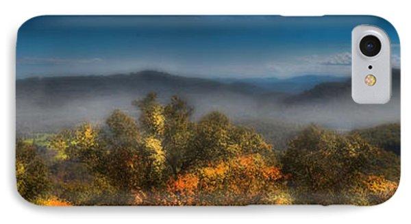 IPhone Case featuring the photograph Blue Ridge Panorama by Ellen Heaverlo