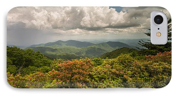Blue Ridge Parkway Green Knob Overlook IPhone Case